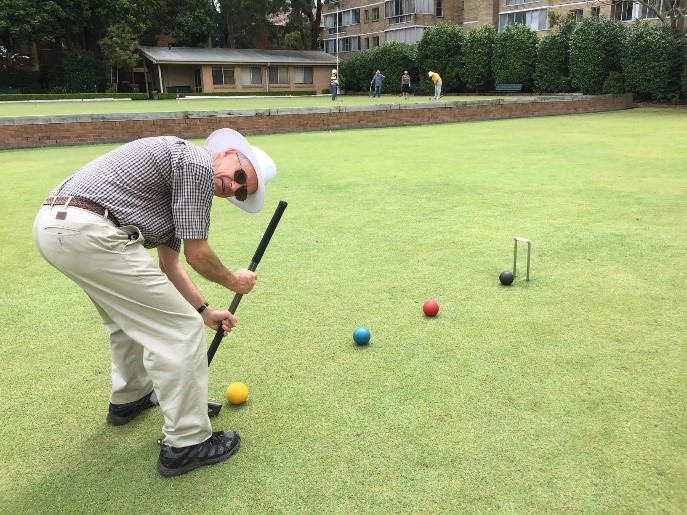 Play Croquet at Chatswood Croquet Club